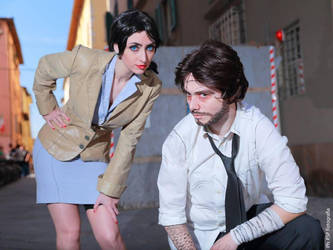 The Wolf Among Us - SnowWhite and the Big Bad Wolf by Kiara-Valentine
