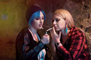 Life is Strange - Chloe and Rachel by Kiara-Valentine