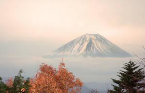 Floating Fuji 2 by kucingitem