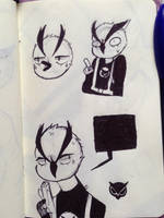 Some doodles of vanissgaming  by SweetCocoHeart