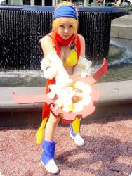 Rikku - Battle Pose by lawlessly