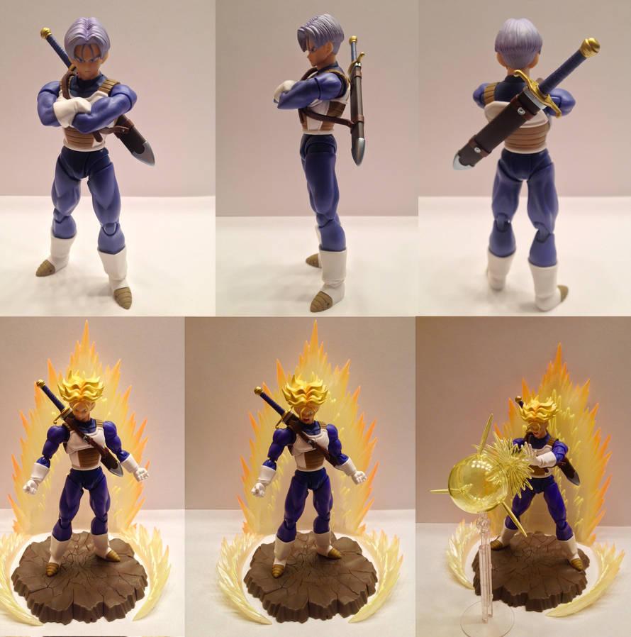 S.H. Figuarts Saiyan Armor Trunks (Sword) by Johnny-E