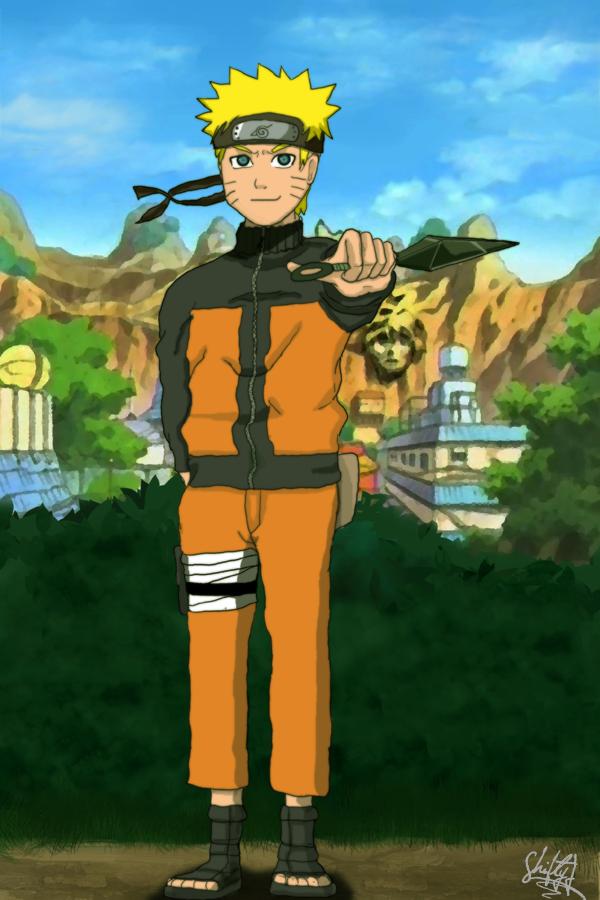 Uzumaki Naruto by ShiftyJ