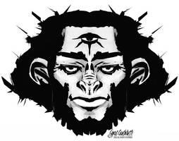 King Monkey by cyrus-crashtest