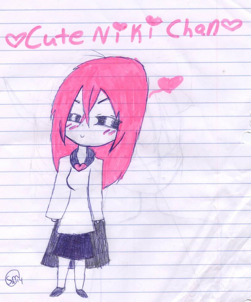For CuteNikeChan ^w^ by SilverMelody13