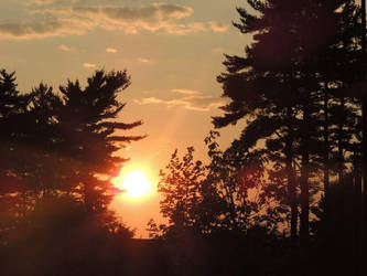 A Maine Sunset by beckhamsoccer23
