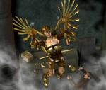 Steampunk Angel by wheeter