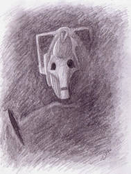Doctor Who Cyberman by Naomeart