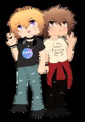 Zack and Matt by DarkShuubi