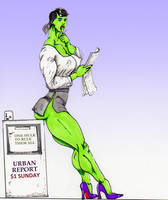 One Hulk To Rule Them All by plastikevol