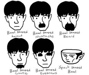 Bowl shaped beard lol by Silvertide