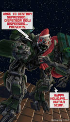 Happy Holidays, 2012 by Silvertide