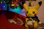 Merry Pikachu Christmas by PolarStar