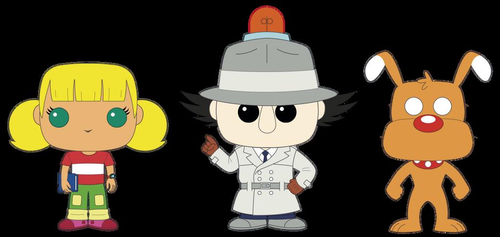 Inspector Gadget POPs Custom Design by PolarStar