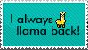 I Llama Back! by KasaraEm13