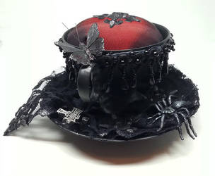 Pincushion goth style (sold) by Sundry-Art