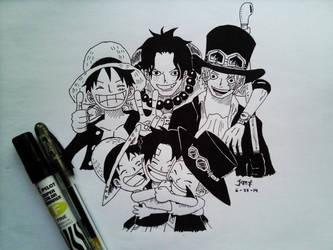 Brotherhood (OnePiece) by reshiin