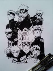 Naruto Uzumaki. (Special Tribute) by reshiin