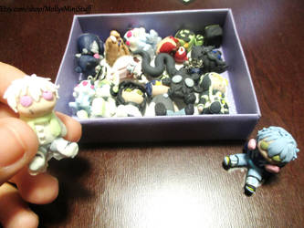 DMMd Clay Figure Collection by MollysMiniStuffVPG