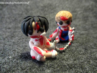 Killing Stalking Inspired Chained figure by MollysMiniStuffVPG
