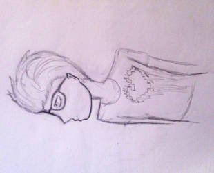 Simon Curtis (Sketch) by MollysMiniStuffVPG