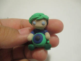 Handmade Jacksepticeye clay chibi - #Septicart by MollysMiniStuffVPG