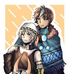 AT: Aoi and Renyaki by utochwan