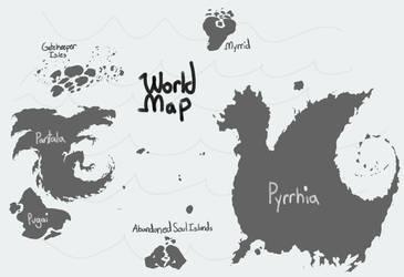 World Map by FluffyGoatDaddy