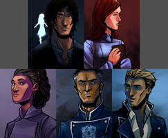 The Way of Kings - POV Characters by ex-m