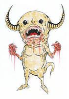 little devil by azridjokoloro