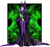 Disney Villains: Maleficent by Grincha