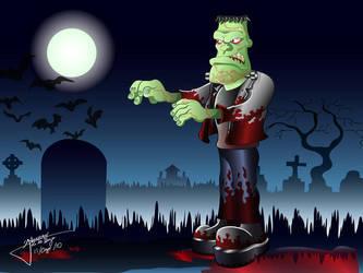 Frankenstein by Grincha