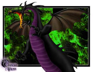 Disney Villains: Maleficent D by Grincha