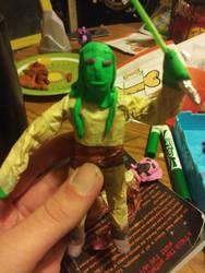 Kit Fisto figure by CashLannister