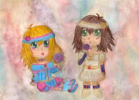 Chibi DMG Lolitas by NekoMarik