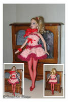 Ballerina Barbie Outfit by NekoMarik