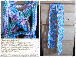 Rivendell Motif- Kassie's wasted scarf by NekoMarik