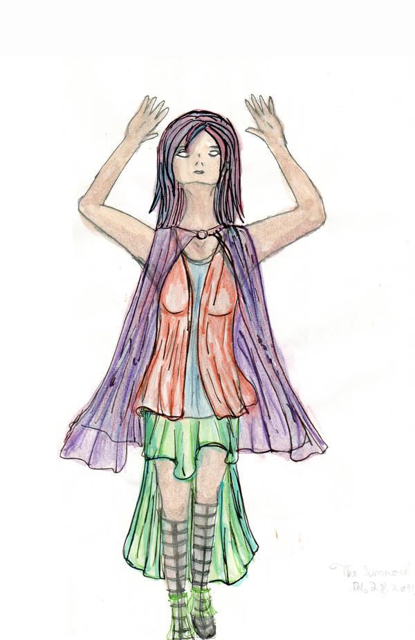 Summoning - colour study by NekoMarik