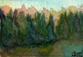 A Family of Trees - WWM Day 22 by NekoMarik