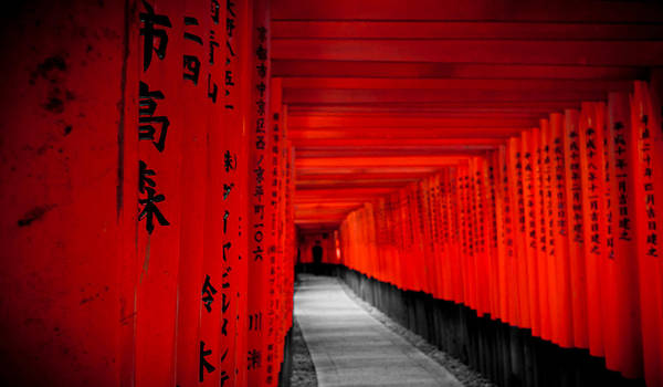 Fushimi Inari Taisha Torii by imladris517