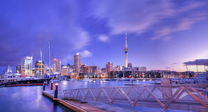 Auckland Waterfront by imladris517
