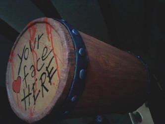 Harley Quinn Hammer replica by zaranoias