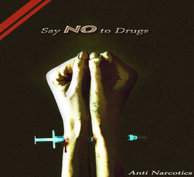 say no to drug by speedup42001