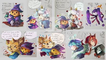 OC Sketches by Naokarii