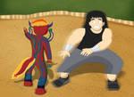 Encounter Ken vs Slimez by Fighter1Manga