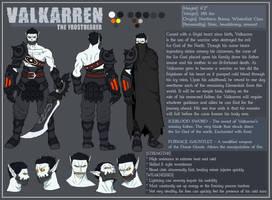 OC - Valkarren [Character Sheet] by KrumpZero