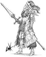 Dragonslayer Ornstein by KrumpZero