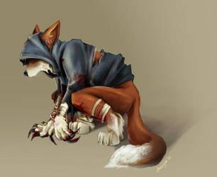 furry+hunter by chibiwerewolf9696