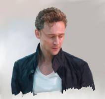 Tom Hiddleston by Alex-Mars
