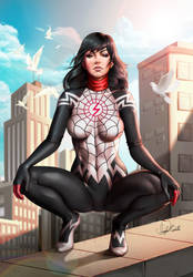 SILK - Spider Man by Douglas-Bicalho